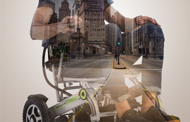 Airwheel H3 city smart wheelchairs